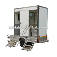 new style outdoor public mobile toilets/ trailer toilet