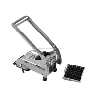 S/S Easy Cutting Potato Chipper, 2 Blades