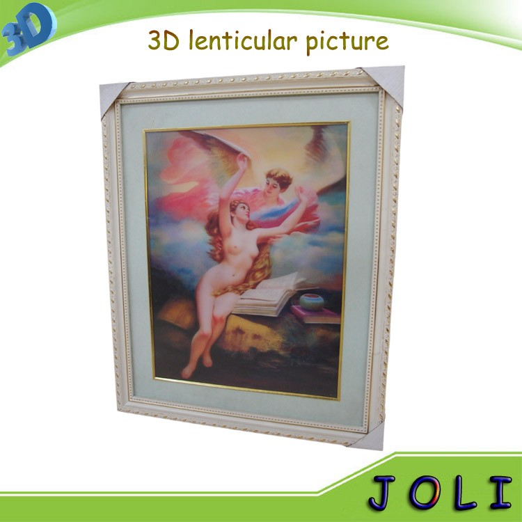 custom design plstic naked picture 3d picture of cartoon girls