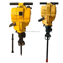 Small Gasoline petrol pionjar 120 rock drill jack hammer machine