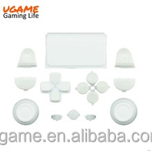 Matte white full set buttons for ps4 controller