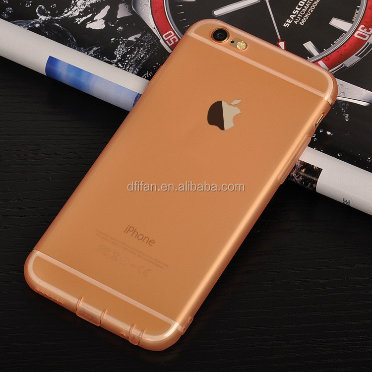 China Alibaba Express For iphone 6s Mobile Phone Accessories Soft TPU Frosted Transparent Cover Case for iphone 6