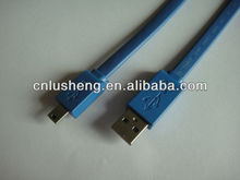 Flat Usb 2.0 Cable AM/MINI 5P