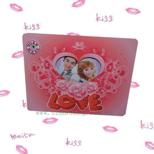 High resolution LED digital photo frame with high quality customized photo frame for lovers