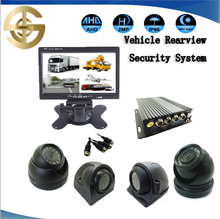 AHD Video CCTV Security Camera High Definition mobile car camera with 7 inch AHD monitor