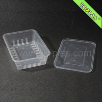 1200ml Plastic Disposable Takeaway Food Container
