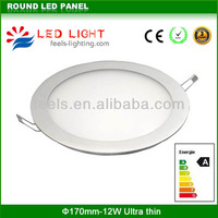 small size dimmable 200mm round led panel