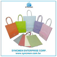 Environmental protection paper packaging bag