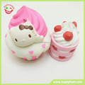 Scented squishy cake squeeze slow rising foam stress toys