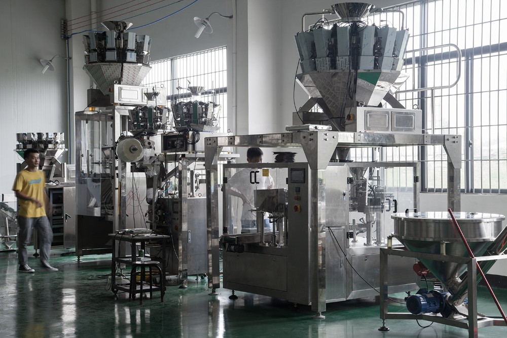 HS-520W Packing machine for Granule, potato chips