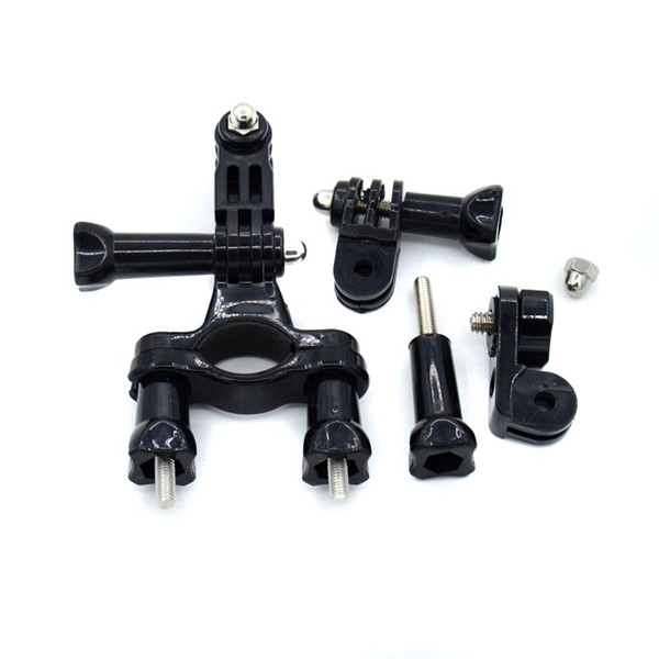 Moto Cycling Bike Handlebar Seatpost Mount Clamp Bracket for Go pro HD Heroes