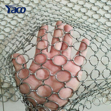 illuminative wire mesh stainless steel architectural ornament wire mesh
