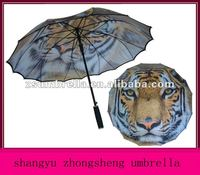 umbrella print have stock cow umbrella