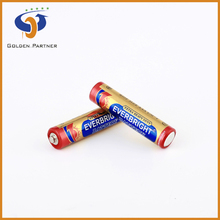High running condition r03p/r6p aaa/aa 1.5v dry cell batteries in wide usage