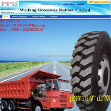 HUASHENG TAITONG KAPSEN china factory TBR tire 9.00R20 10.00R20 high performance truck tyres with top quality