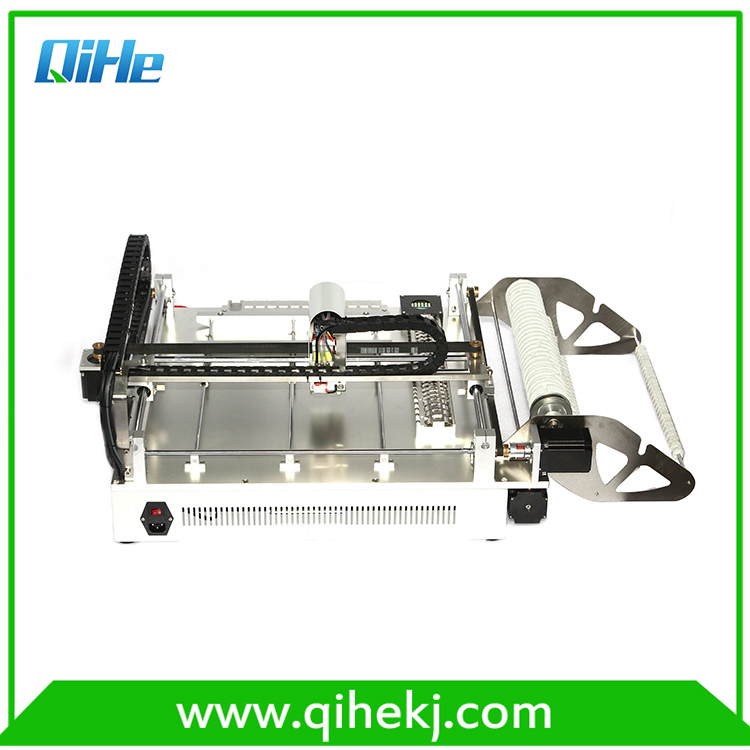 IC assembly pick and place machine LED QIHE TVM802C automatic SMT machine