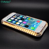 5 INCHES LED Lights Independent Battery Light Up Phone Case For iPhone