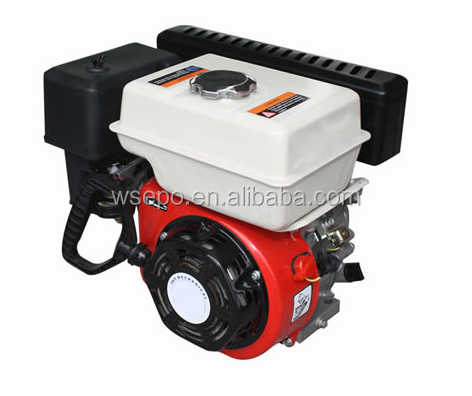 CWE-170FB 7hp 212cc Gas Engine,long muffler,4-stroke single cylinder