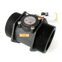 "DN50 2"" Large turbine flow meters pulse water flow sensor for industry"