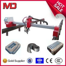 mini gantry plasma and flame cutting cnc router machine