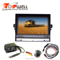Waterproof IP68 Night Vision Rear View Camera With 7inch Digital LCD TFT Touch Button Monitor