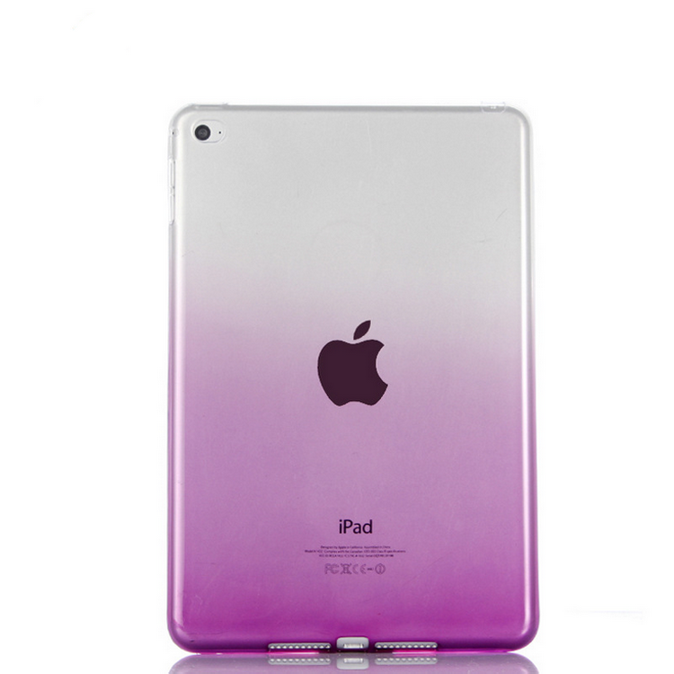 Crystal Soft TPU Transparent Silicone Clear Case Cover for iPad 2/3/4/ mini/Air2