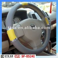 hot sell faux leather PVC/PU car steering wheel covers