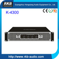 k-4300 Multi-channel professional power amplifier