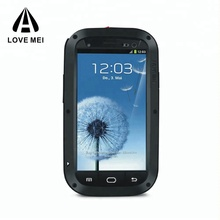 LOVE MEI universal silicone bumper case phone accessories mobile case for Samsung galaxy S 3