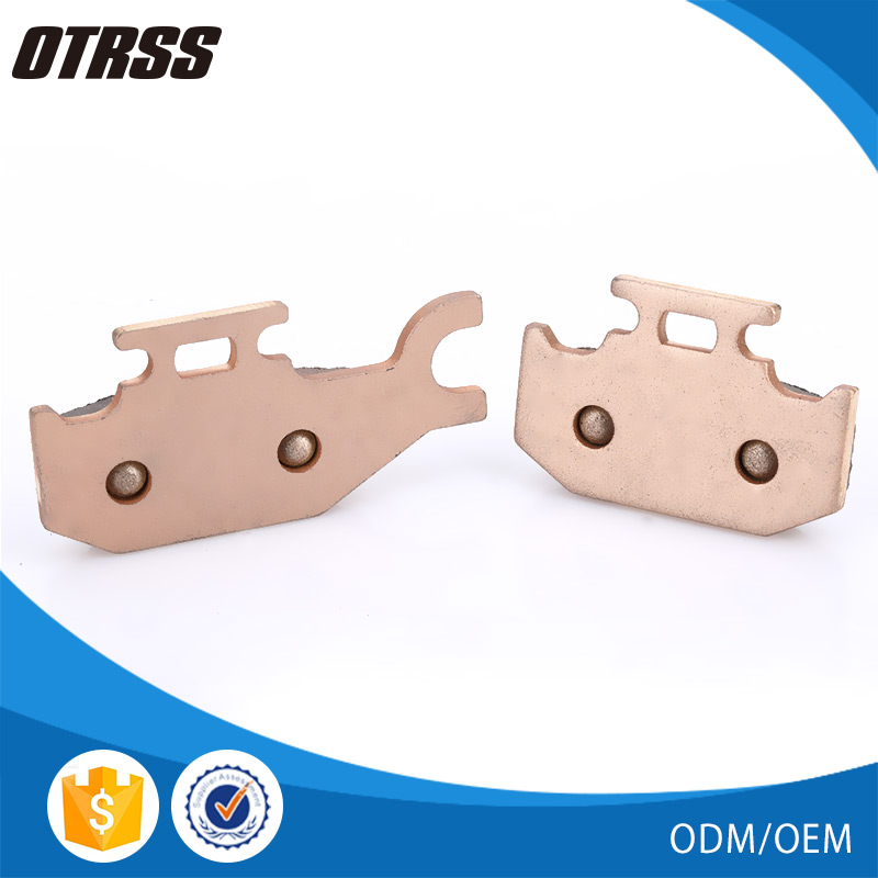 Good quality atv spare parts low price wholesale brake pad for YAMAHA