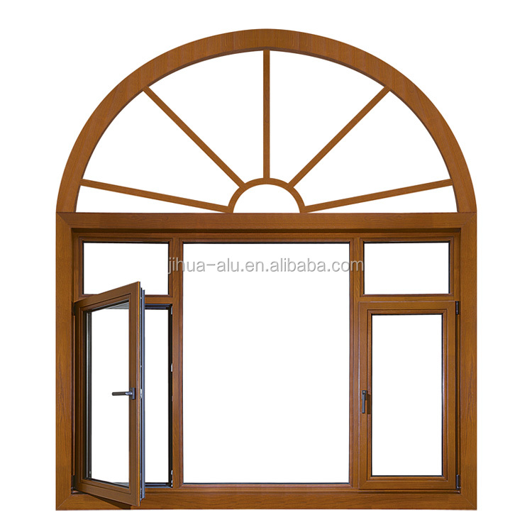 Aluminum alloy flat open the window/ aluminium casement window profile ,window frame