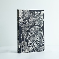 Machine Culture silver card future fantastic style hardcover notebook