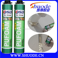 high density 750ml single component fast curing polyurethane sealant