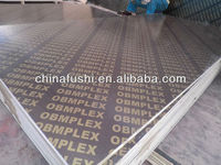 18mm brown film faced plywood printing brand name