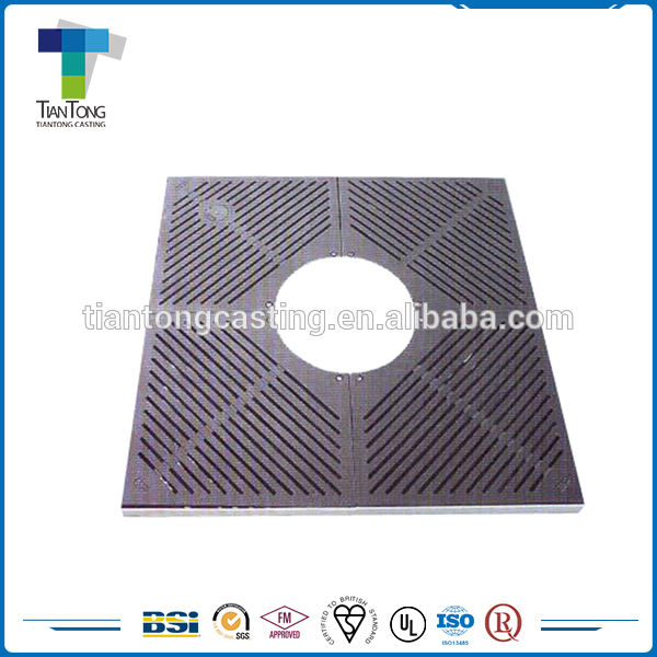 China manufacory cast iron tree grating with best price