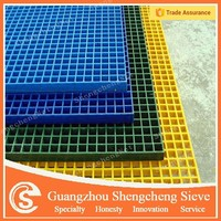 Guangzhou colorful reinforced plastic floor grating