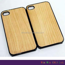 Wholesale hard blank real wood,blank wood case for iphone