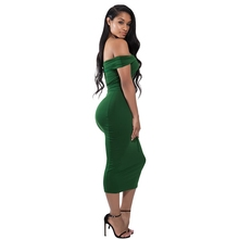 2017 Elegant Off-shoulder Winter Bodycon/Bandage Semi Formal Party Cocktail Dress 7717