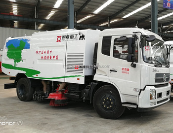 CTAC Cheaper Sanitation Street Vacuum Sweeper Truck for sale