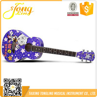 Colorful Purple Guitar For Kits(TL-0042)