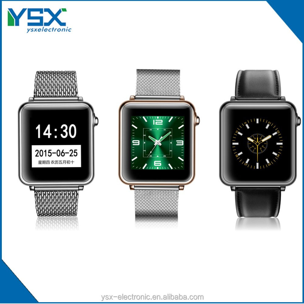 Hot sale Remark&Bluetooth Push Message Email wechat QQ function smart watch for iphone