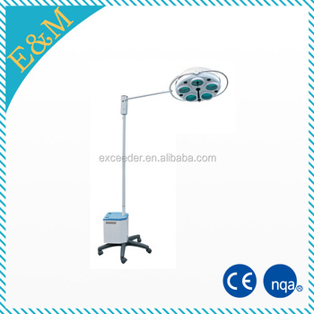 Multi reflector ceiling led operating light