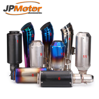 JPM Chinese Motorcycle Slip on Exhaust 51mm Performance Motorcycle Mufflers Exhaust Silencers