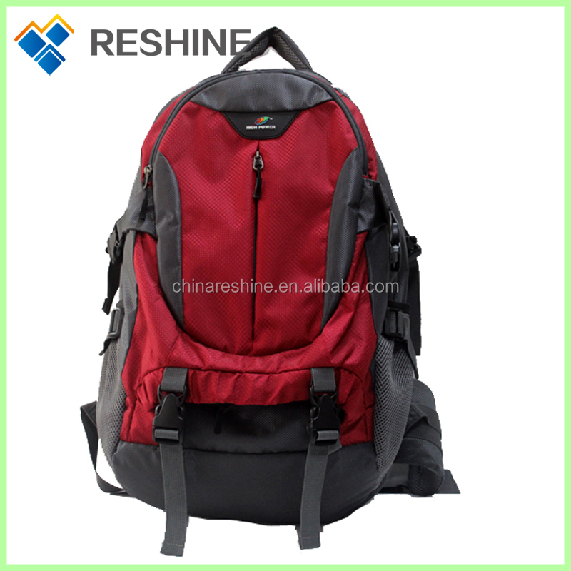 China wholesale ourdoor equipment custom backpack climbing backpack sports backpack one day travel bag