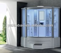 Bath Tub Steam Room China Manufacturer Bathtub Indoor Massage Shower Room for 2 people with lcd tv 2014