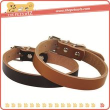 Fashion pu leather pet collar ,h0tmn braided leather dog collars and leashes for sale