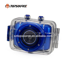 "HD 720p F5 Sport Action Camera with 2.0"" Touch Screen & Waterproof"