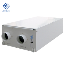 High Efficiency Energy Recovery Ventilation/Heat Recovery Ventilation System With Heat Pump