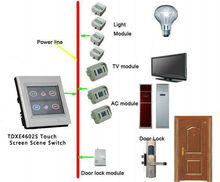 Remote control x10 smart home control system