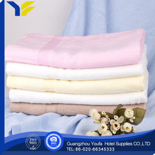 plain dyed hot sale 100% polyester walmart towels factory